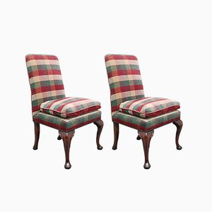 George I Style Side Chairs, 1960s, Set of 2