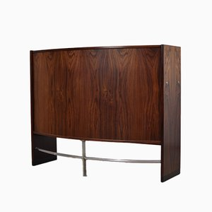 Danish Rosewood Bar Cabinet from Dyrlund, 1960s