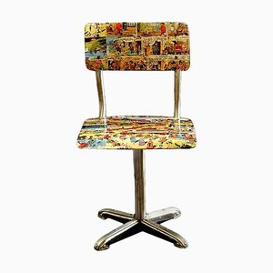 Mid-Century Bentwood Childrens Chair, 1950s