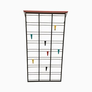 Dutch Tone Ladder Coat Rack by Coen de Vries for Pilastro, 1950s
