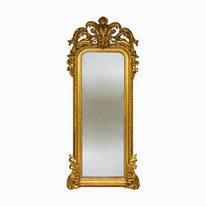 Miroir Antique en Verre Mercuré