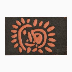 Céramique Petit Soleil par Pablo Picasso pour Madoura, 1968