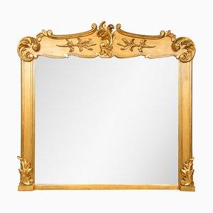 Miroir de Cheminée Antique Doré, Irlance