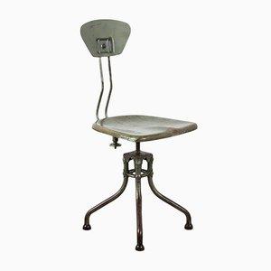 Chaise Pivotante M42 Industrielle par Henri Liber pour Flambo, 1930s