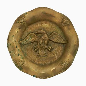 Gilt Bronze Eagle Ormolu Relief Wall Plaque, 1890s