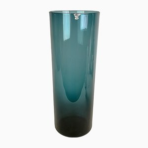 Large Glass Vase by Kjell Blomberg for Gullaskruf, 1950s