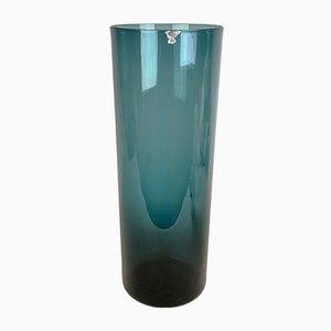 Vaso grande in vetro di Kjell Blomberg per Gullaskruf, anni '50