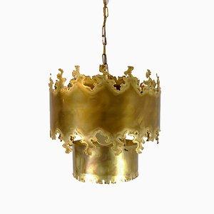 Brutalistische Deckenlampe von Svend Aage Holm Sørensen für Holm Sørensen & Co, 1960er