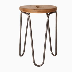Stool by Cesar Janello for AA Raoul Guys, 1940s