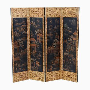 Antique Chinoiserie Room Divider, 1910s