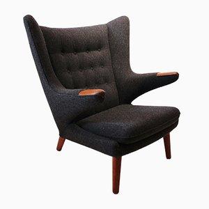 Model AP 19 Papa Bear Chair by Hans J. Wegner for A.P. Stolen, 1960s