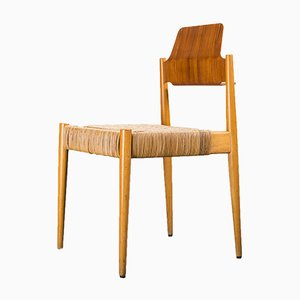 SE119 Church Chair by Egon Eiermann for Wilde & Spieth, 1950s, Set of 4