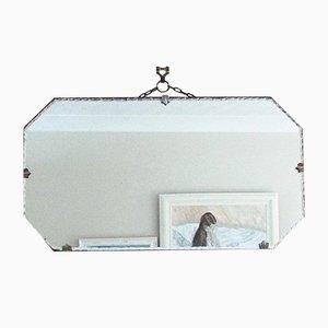 Art Deco Vintage Spiegel mit Krustenkanten