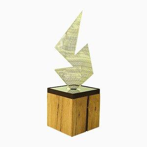Sculpture Lumineuse ALUCE Poligono par Peter Bannas pour MAHOline, 2019