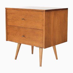 Nachttisch mit 2 Schubladen von Paul McCobb für Planner Group, 1960er
