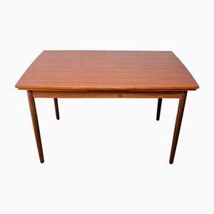 Extendable Teak Dining Table, 1960s