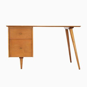 Solid Maple Group Desk by Paul McCobb for Winchendon Furniture, 1960s