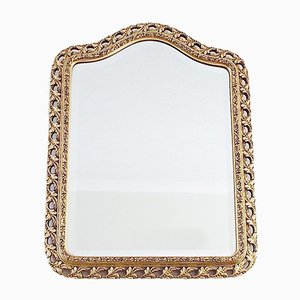 Vintage Spiegel mit goldenem Holzrahmen