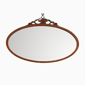 Vintage Oval Bevelled Edge Mirror