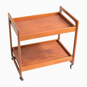Vintage Danish Serving Bar Cart, 1960s