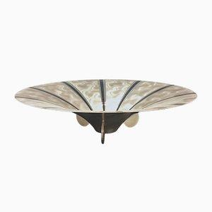 Versilberte Vintage Schale im Art Deco-Stil von WMF