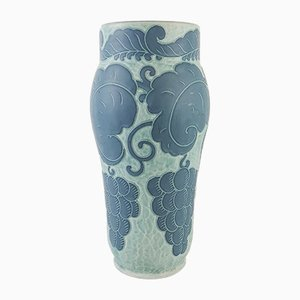 Art Deco Sgraffito Vase by Josef Ekberg for Gustavsberg