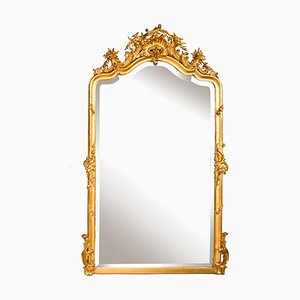 Antique French Gilded Mirror, 1860s