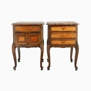 Antique Style French Nightstands, 1920s, Set of 2