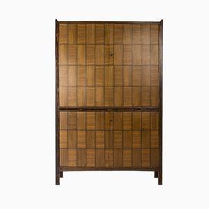 Mueble de caoba y palisandro de David Rosén para Thomas Lindell, 1967