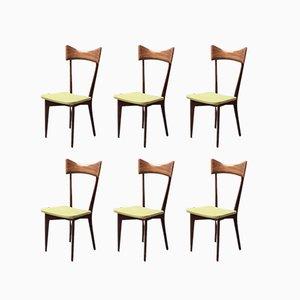 Chaises de Salon par Ico & Luisa Parisi pour Ariberto Colombo, 1948, Set de 6