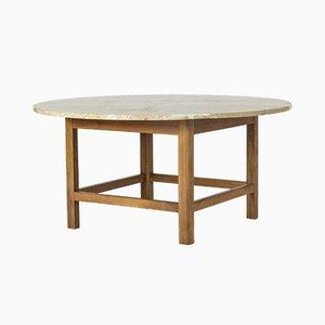 Tavolino da caffè in marmo di Josef Frank per Svenskt Tenn, anni '50