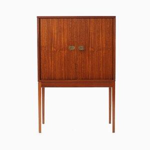 Mueble bar de teca de Henning Korch para Silkeborg Møbelfabrik, años 60