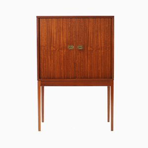 Teak Bar Cabinet by Henning Korch for Silkeborg Møbelfabrik, 1960s