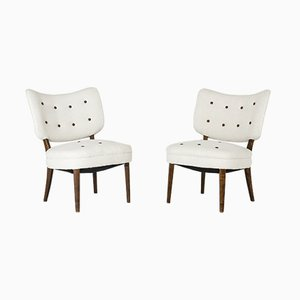 Easy Chairs by Otto Schulz for Boet, 1940s, Set of 2