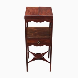 Antique Georgian Mahogany Washstand, 1820s