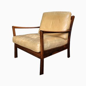 Danish Mid-Century Rosewood Lounge Chair