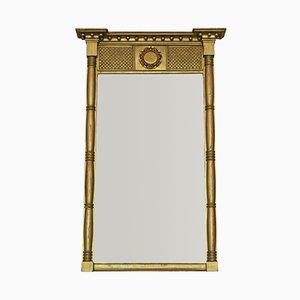 Espejo de pared o repisa Regency, década de 1830
