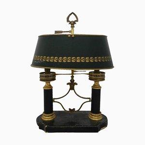 Französische Bouillotte Tischlampe