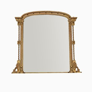 Grand Miroir Mural ou de Cheminée Regency, 1820s