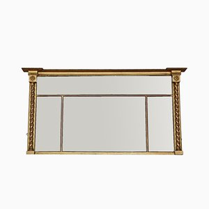Large Regency Over Mantle Wall Mirror, 1820s