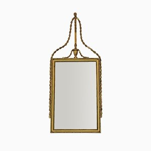 Large Georgian Overmantle Wall Mirror, 1810s