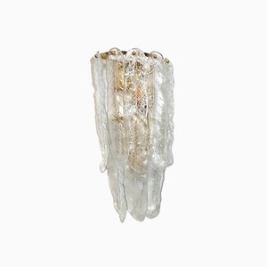 Vintage Murano Glass Wall Light from Mazzega
