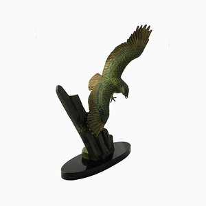 Statue eines fliegenden Adlers von Rulas, 1930er