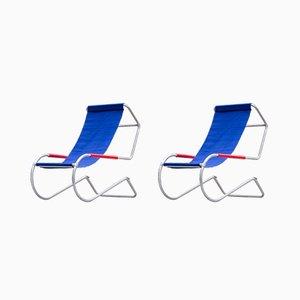 Lido Lounge Chairs by Fratelli Giudici, 1970s, Set of 2