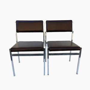 Chaises d'Appoint Vintage, 1970s, Set de 2