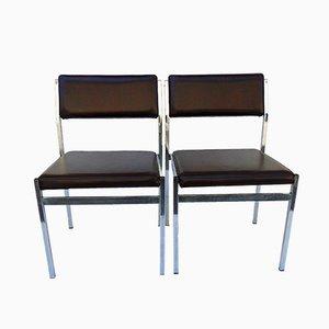 Vintage Beistellstühle, 1970er, 2er Set