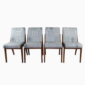 Vintage Aga Stühle von Józef Chierowski, 1970er, 4er Set