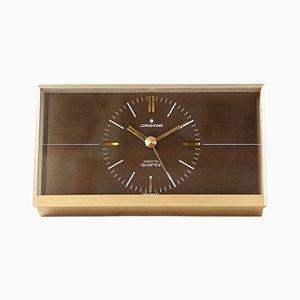 Reloj de mesa vintage de Junghans, años 70