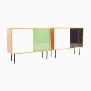Kleine Sideboards aus Teak von Georg Satink für WK Möbel, 1950er, 2er Set
