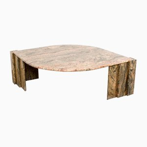 Table Basse en Marbre, Italie, 1970s